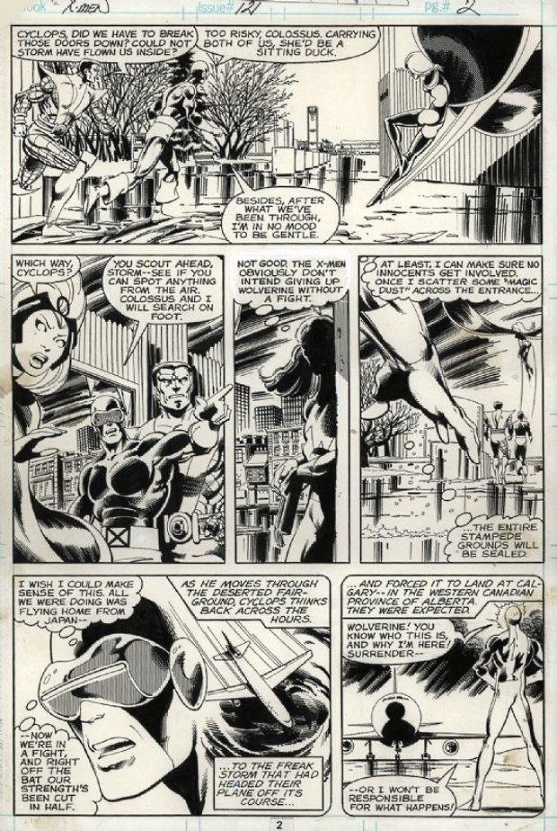 X-Men #121, page 2