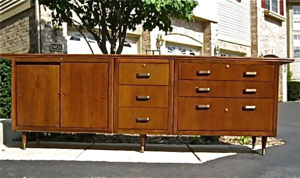credenza-main office wall   Chicago furniture, Furniture ...
