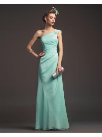 Elegante Grüne Cocktailkleider aus Chiffon | Kleider | Pinterest