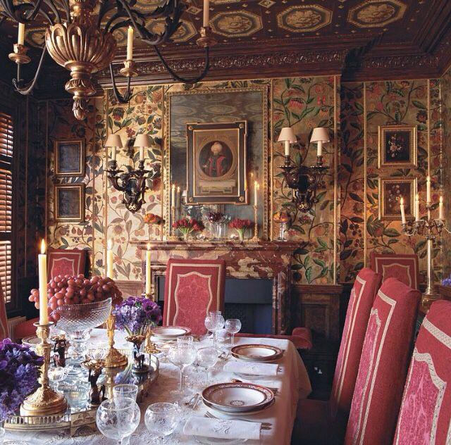 Live Like A King Salle A Manger Classique Service De Table Decoration Maison