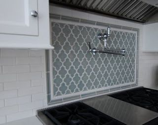 Wunderbar Moroccan Inspired Kitchen Backsplash Tile   Subway Tile In The Field
