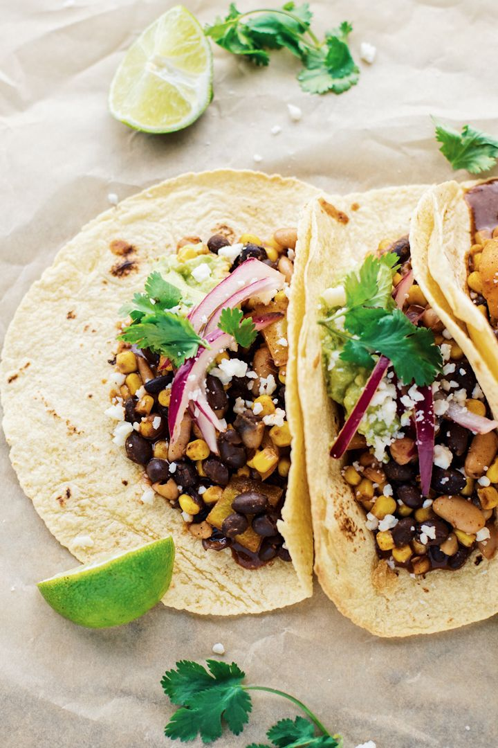 The Best 30-Minute Vegetarian Tacos images