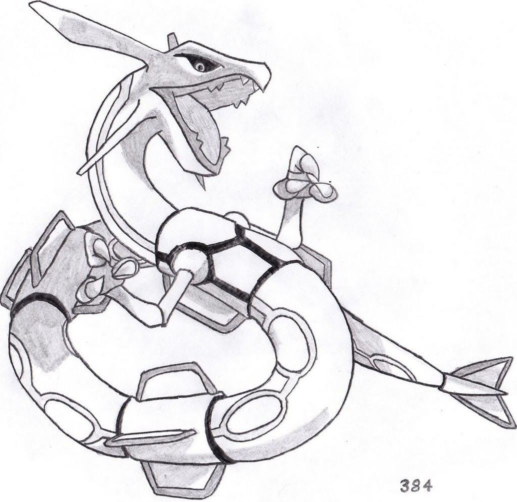 Legendary Pokemon Rayquaza Coloring Pages In 2020 Pokemon Sketch Pokemon Rayquaza Pokemon Coloring Pages