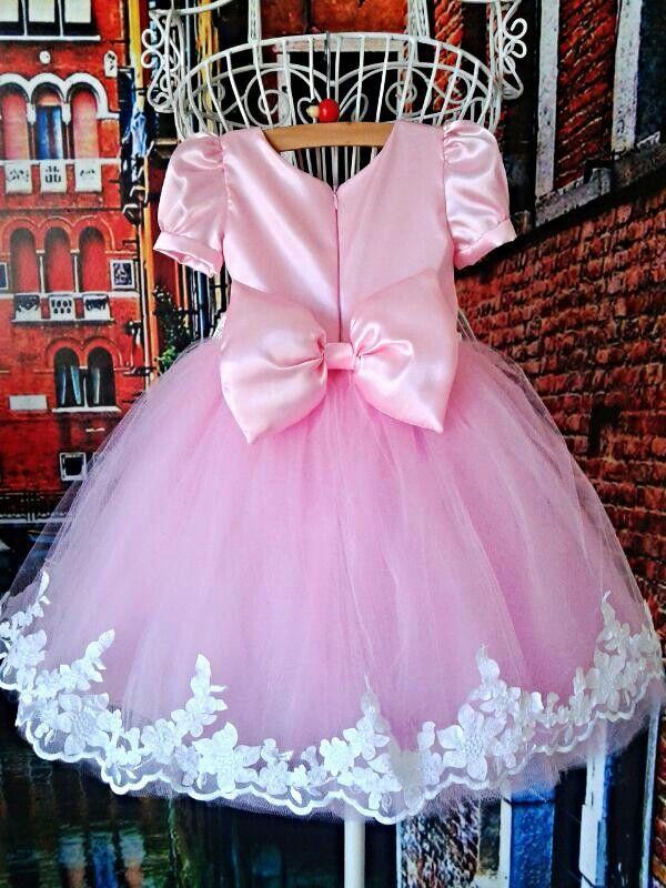7f98d770ee Vestido princesa rosa 1 aninho Por Mirian Rosa
