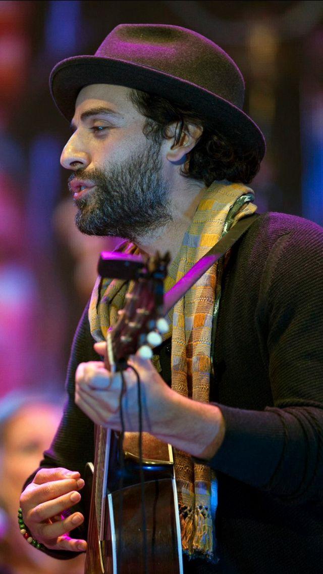 Oscar Isaac performs at el 2do Festival Acústico con Gaby Moreno y Amigos at Jardín UFM Zona 10 in Guatemala (February 28, 2015)