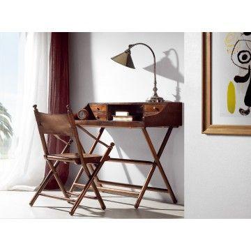 Mesa escritorio colonial generac ambar muebles deco - Mesa escritorio colonial ...