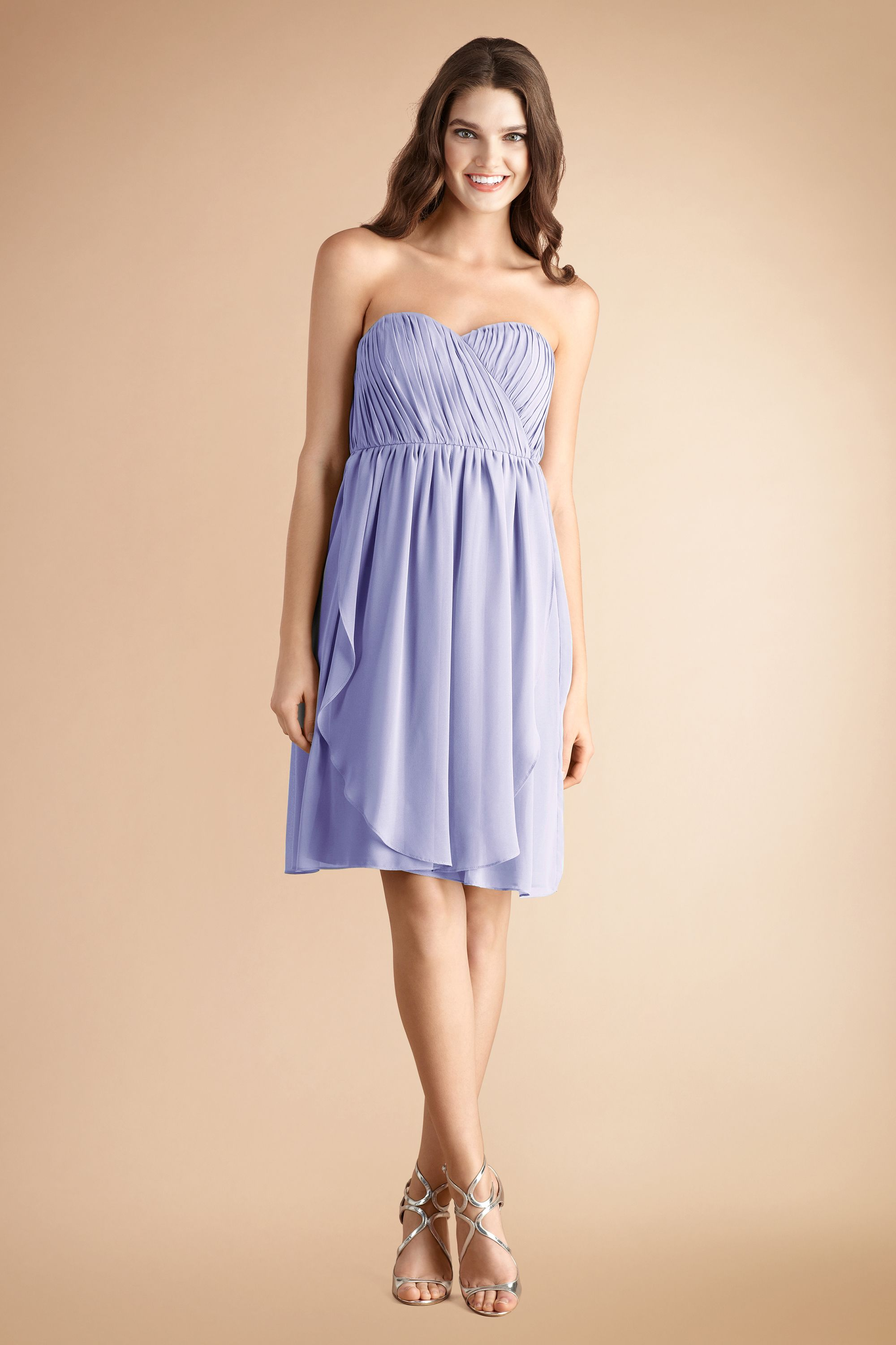 There are over 8 ways to tie our Blaire dress! We love it in our new color #Iris! #Wedding