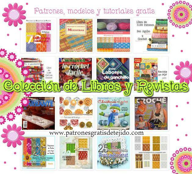 Libro y revistas en pdf para descargar gratuitamente   Crochet y Dos ...