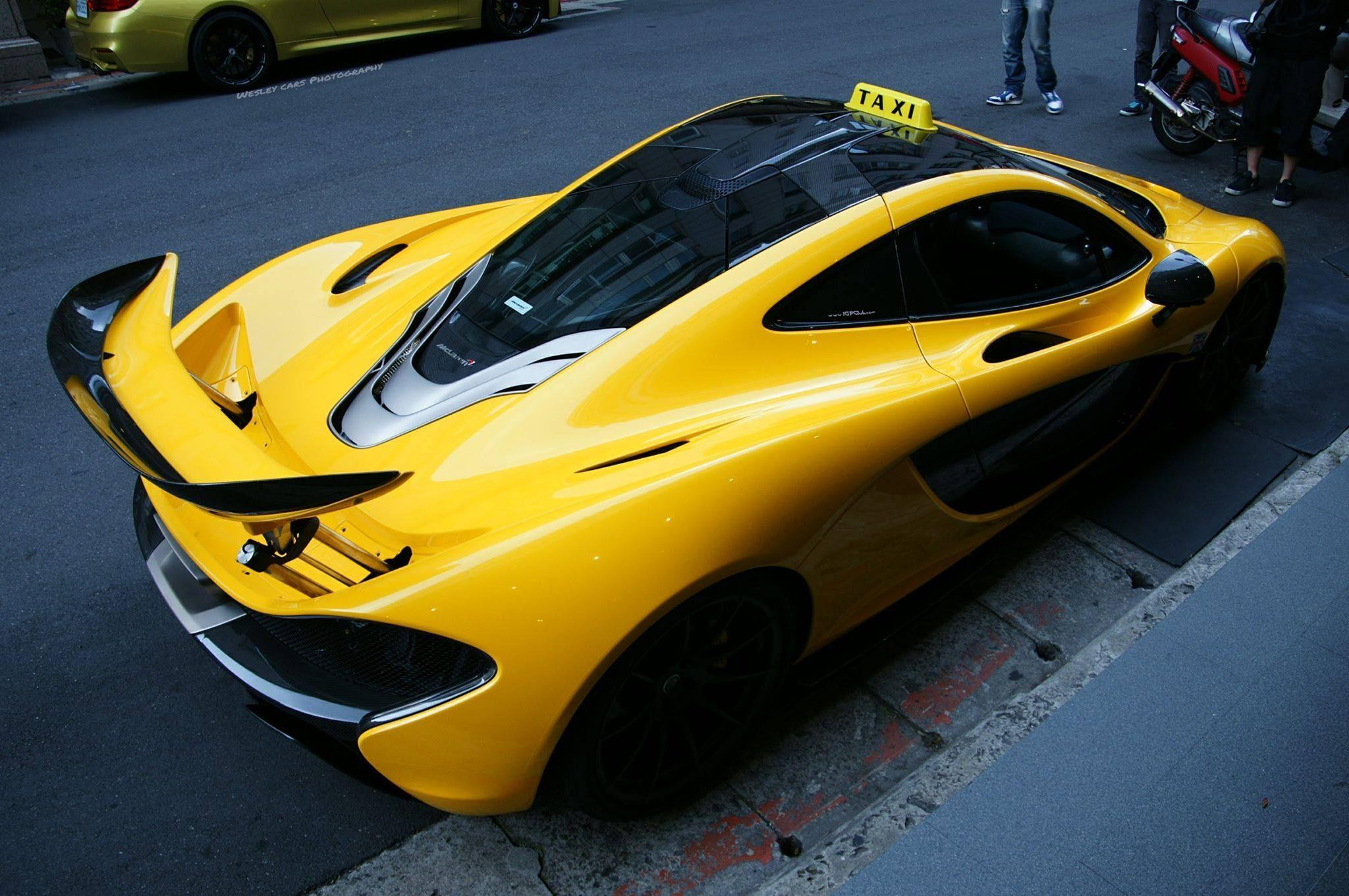 McLaren P1 Mclaren p1, Mclaren, Taxi