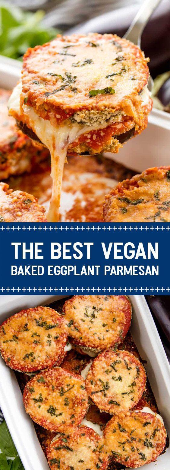 ★★★★★ 72 reviews: The Best Vegan Baked Eggplant Parmesan 72 reviews:The Best Vegan Baked Eggplant Parmesan | These Eggplant parmesan are tastes very similar to regular chicken parmesan. | ub