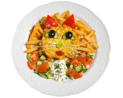 Tortilla gatita simp tica para ni os comida saludable y for Comida saludable para ninos