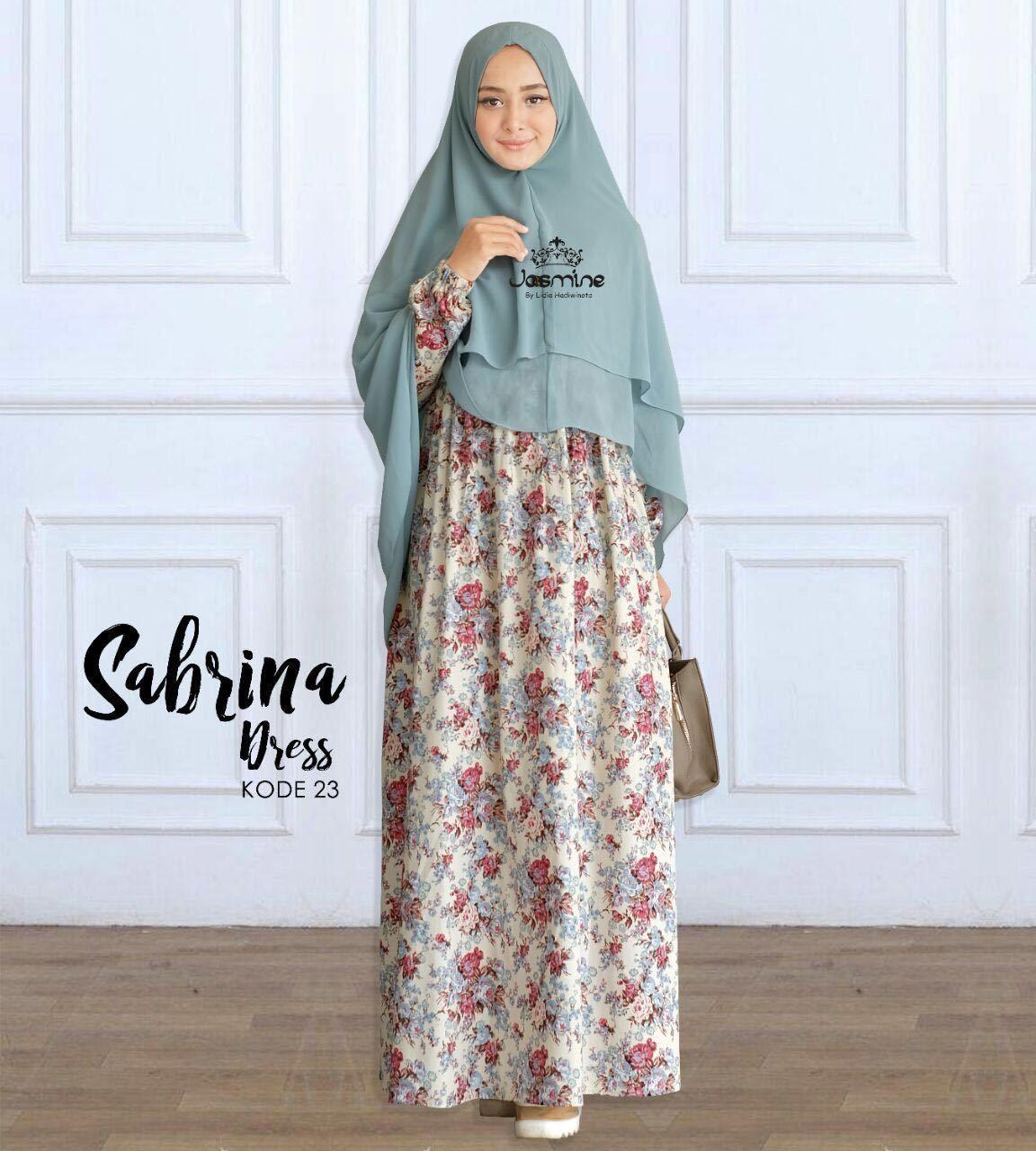 Gamis Jasmine Sabrina Dress 10 - baju gamis wanita busana muslim