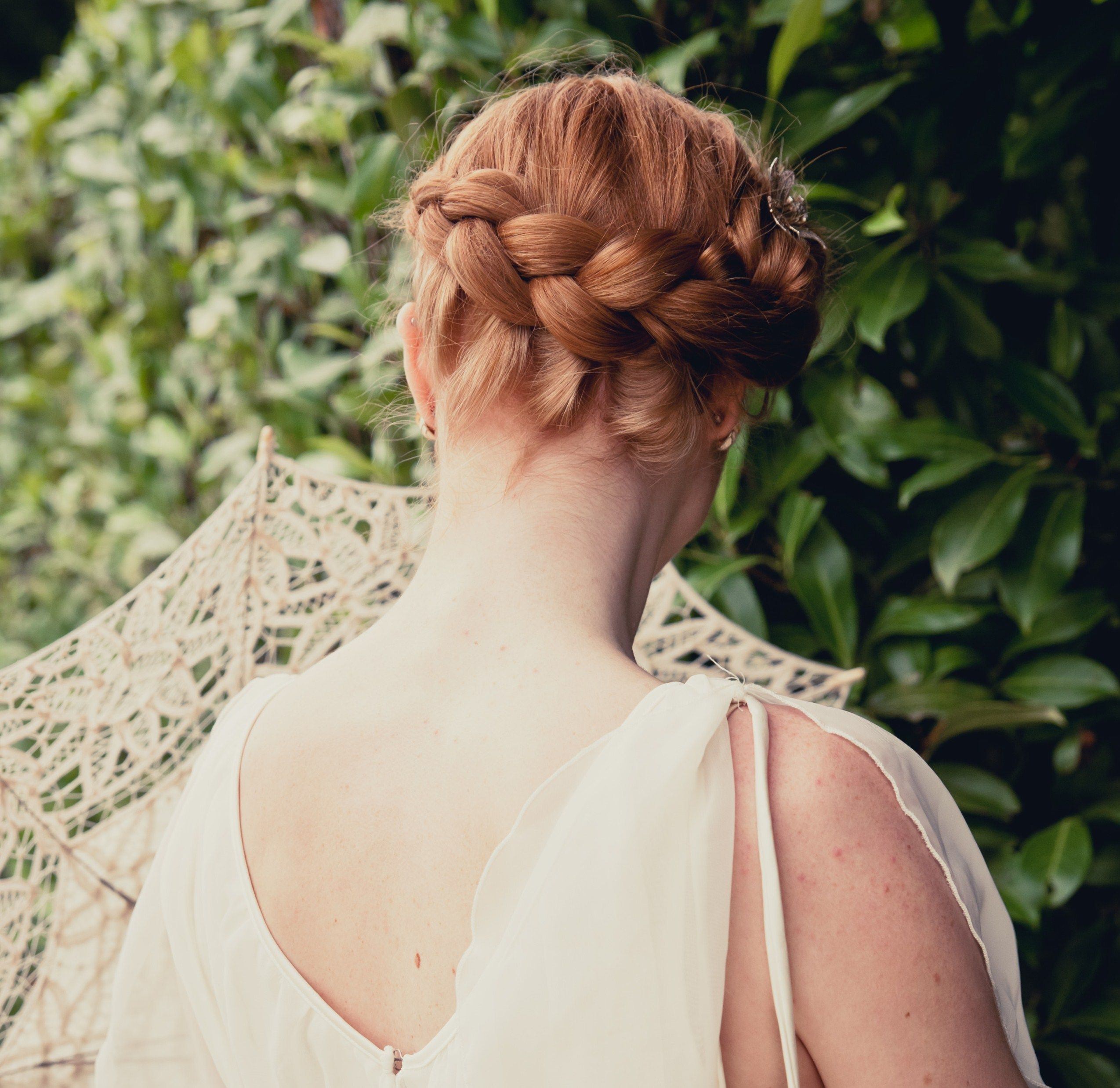 Wedding Hairstyle Hacks: Wedding Hair With A Plait Www.facebook.com