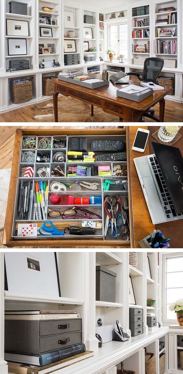 Nice Home Office Overhaul! Container StoreThe ...