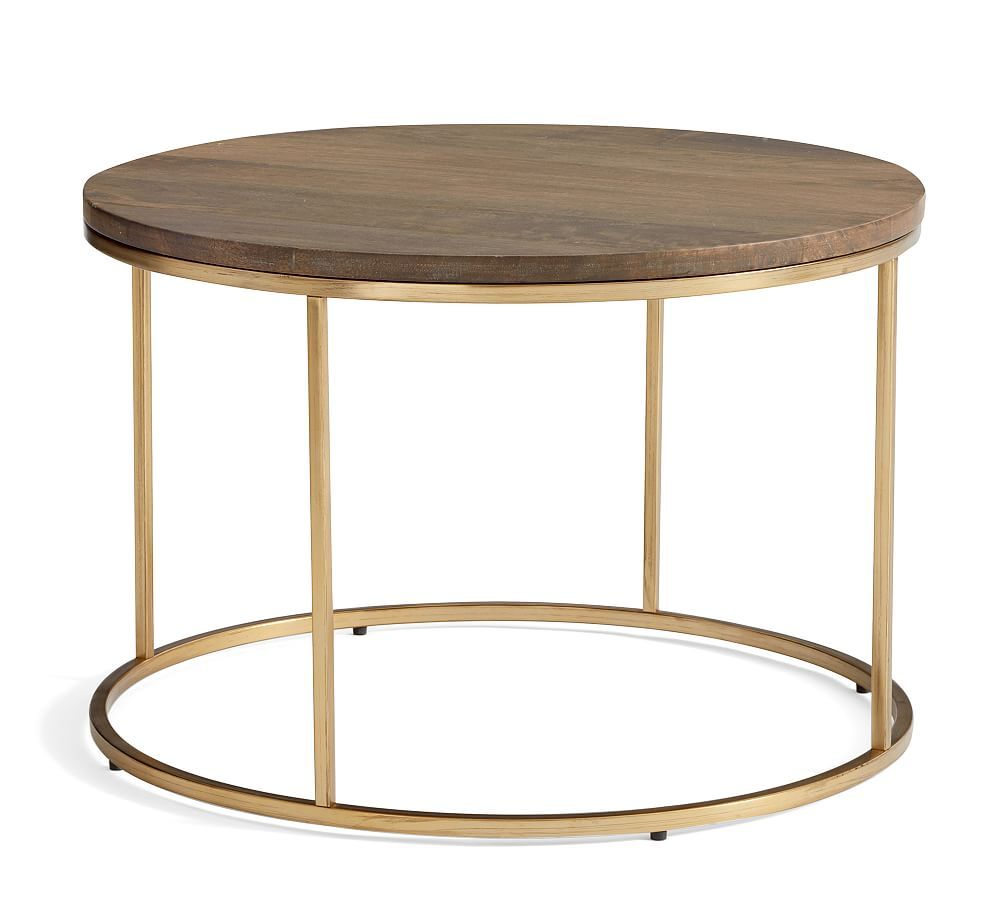 Delaney 25 Round Coffee Table Round Coffee Table Coffee Table Pottery Barn Coffee Table [ 900 x 1000 Pixel ]