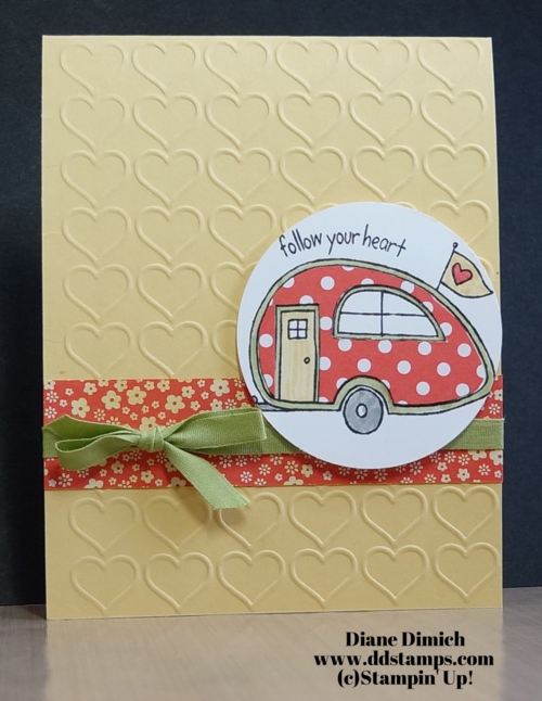 Stampin' Up! You're Sublime Click here for a full tutorial!