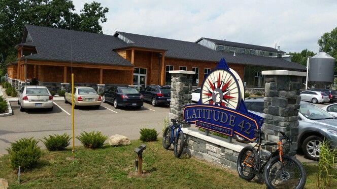 Latitude 42 Brewing Company Portage Mi Brewing Company Monster Trucks Brewery