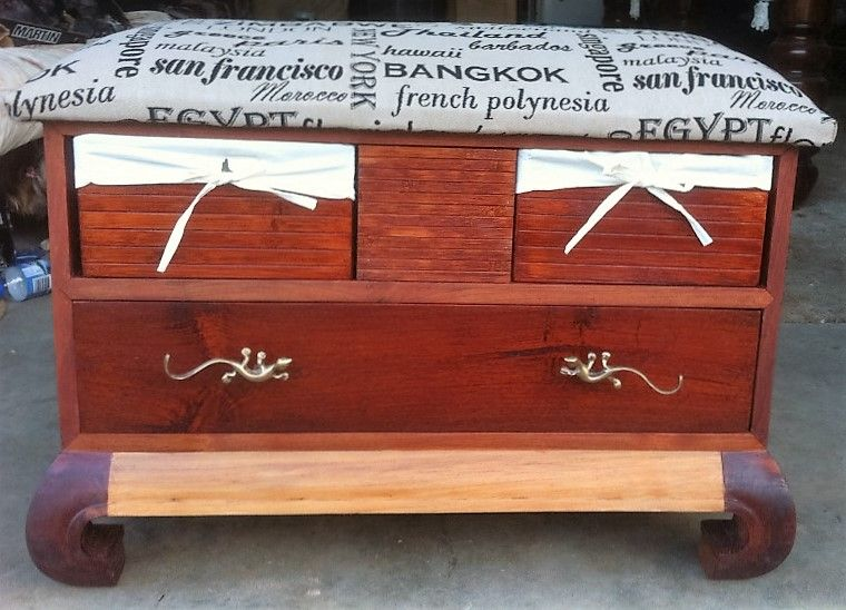 Miraculous Old Tv Stand Repurposed Into A Bench Seat With Storage Caraccident5 Cool Chair Designs And Ideas Caraccident5Info