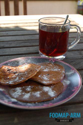 Rijstpannenkoekjes met kokos en kiwi - http://fodmap-dieet.nl/recepten/rijstpannenkoekjes-met-kokos-en-kiwi/