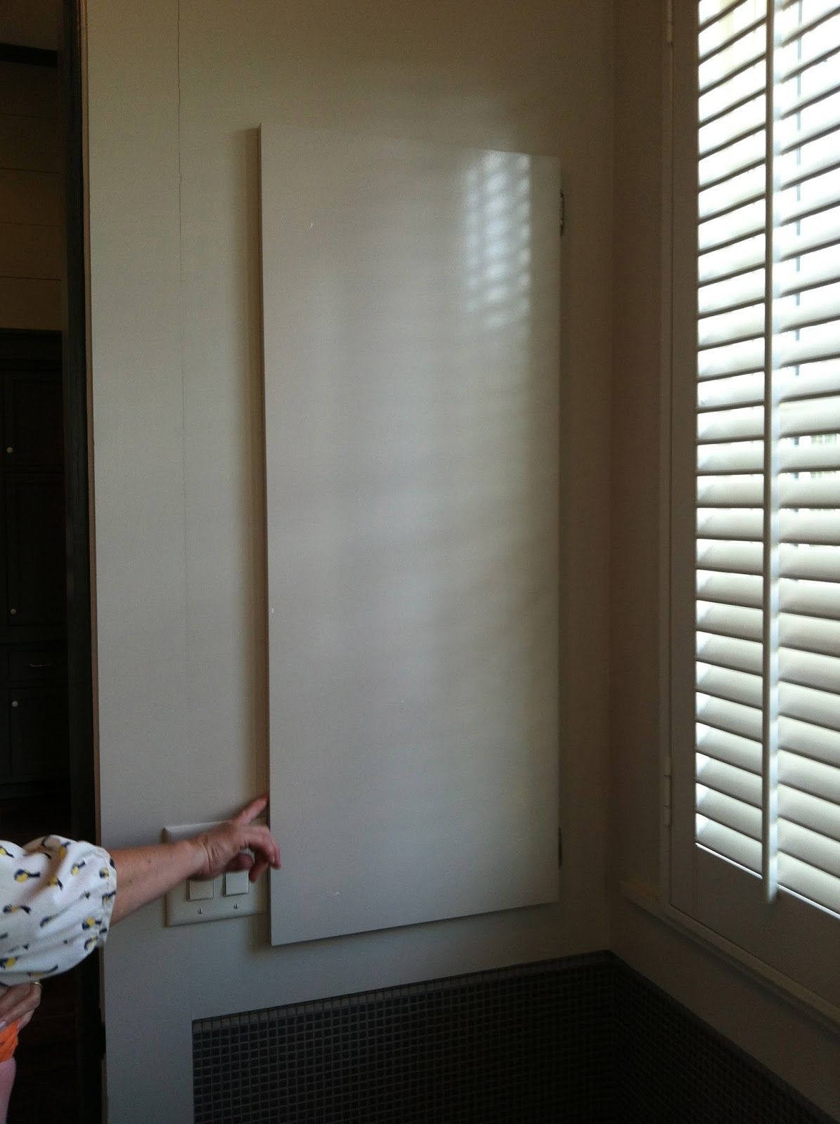 Unfinished Basement Playroom Curtains