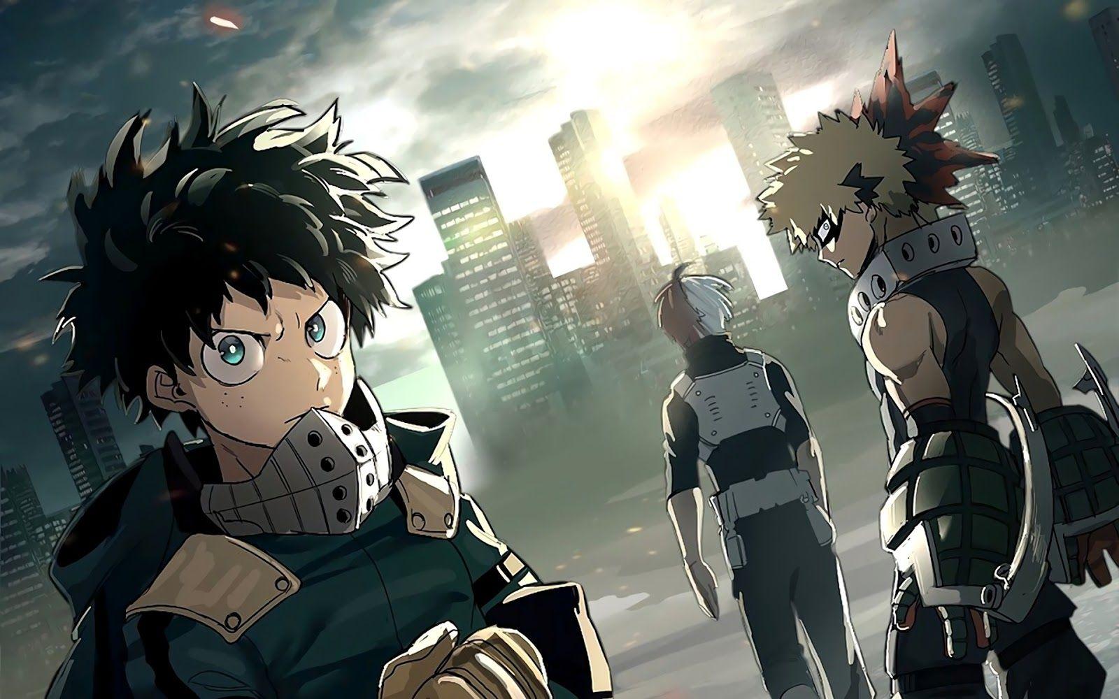 Boku No Hero Academia Com Imagens Bakugou Deku Boku No Hero
