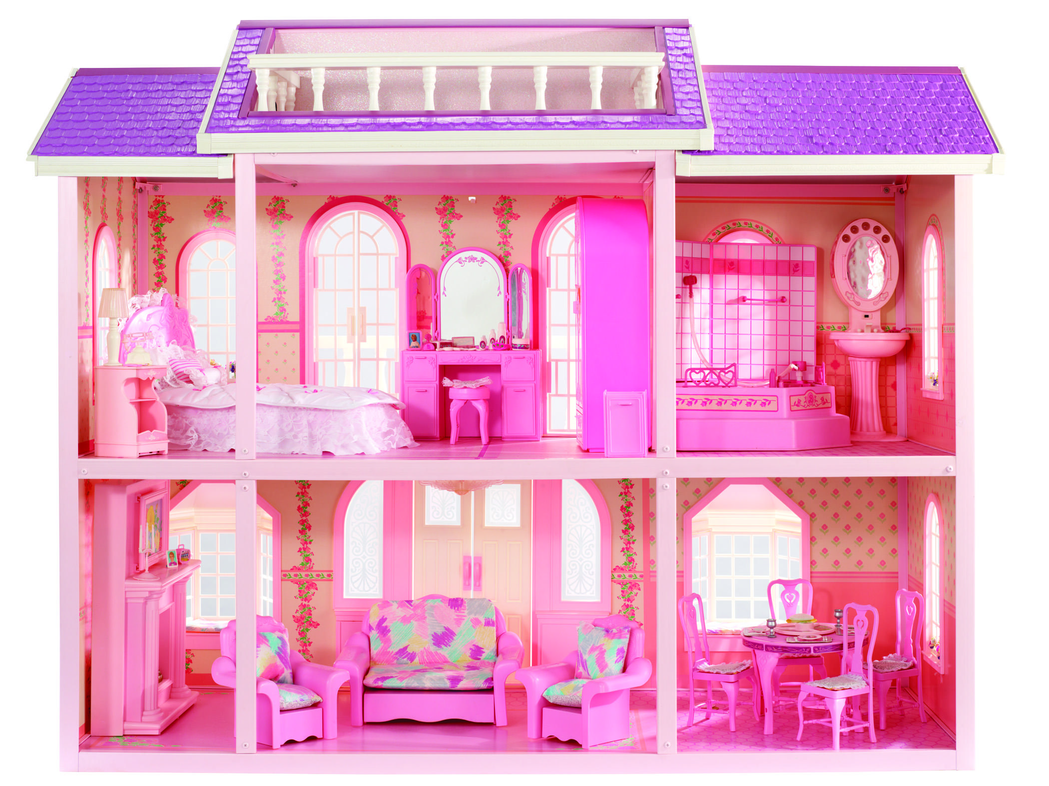 Barbie\'s Magical Mansion - 1990 Entering into the 90s, Barbie opted ...