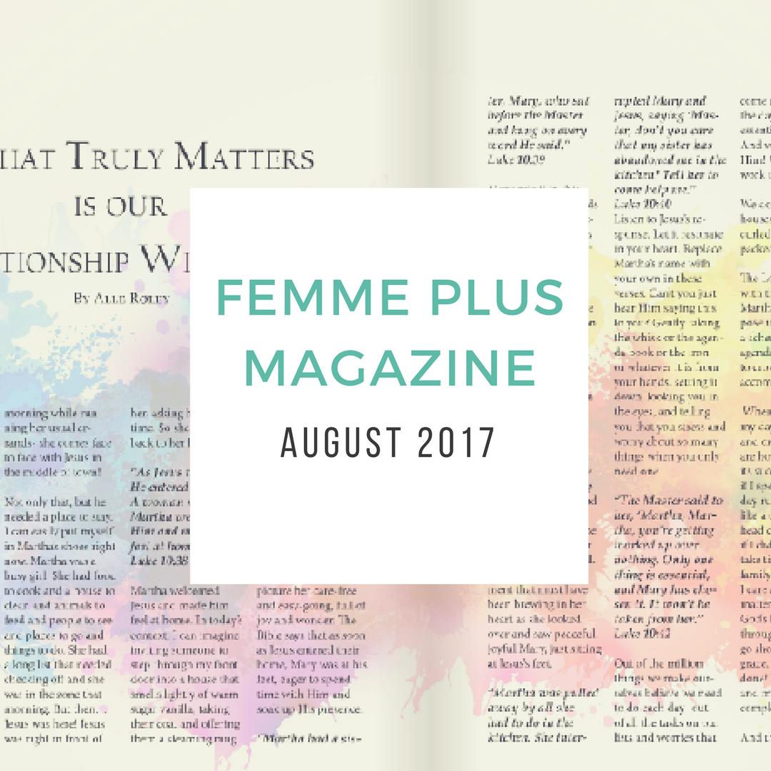 femme plus magazine