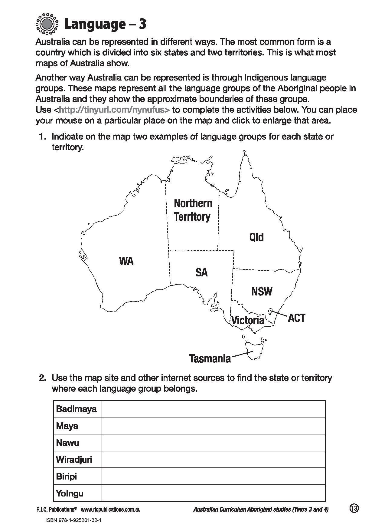 Aboriginal Worksheets Free Printables Printable Worksheets Are A Valuable Classroom Tool They No Long In 2021 Free Printable Worksheets Aboriginal Language Teaching [ 1754 x 1240 Pixel ]