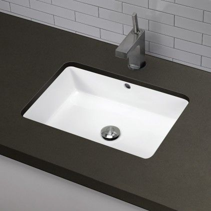 Bathroom Sinks Tucson decolav-good undermount sink option | bathroom ideas | pinterest