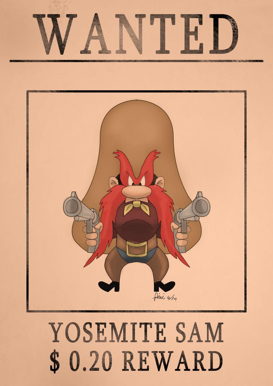 Yosemite Sam Speed Drawing By Idroidmonkey On Deviantart Classic Cartoon Characters Yosemite Sam Looney Tunes Characters