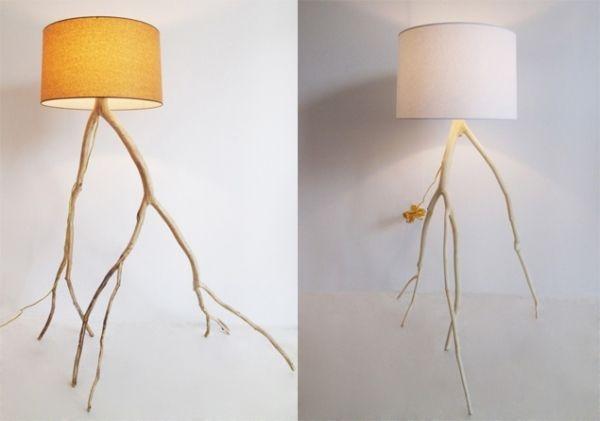 holzideen zum selbermachen, wandlampe holz ideen leuchten zum selbermachen | einrichten, Design ideen