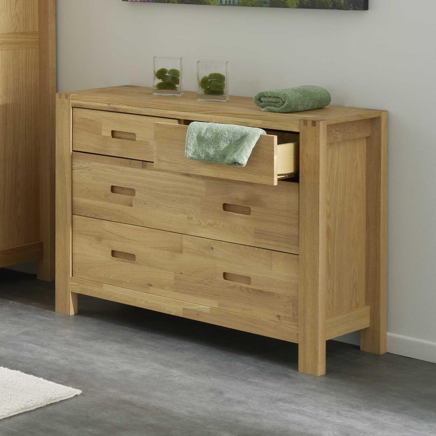 commode 4 tiroirs en ch ne l106xp44xh85cm hawke akhal port offert d co meubles pinterest. Black Bedroom Furniture Sets. Home Design Ideas