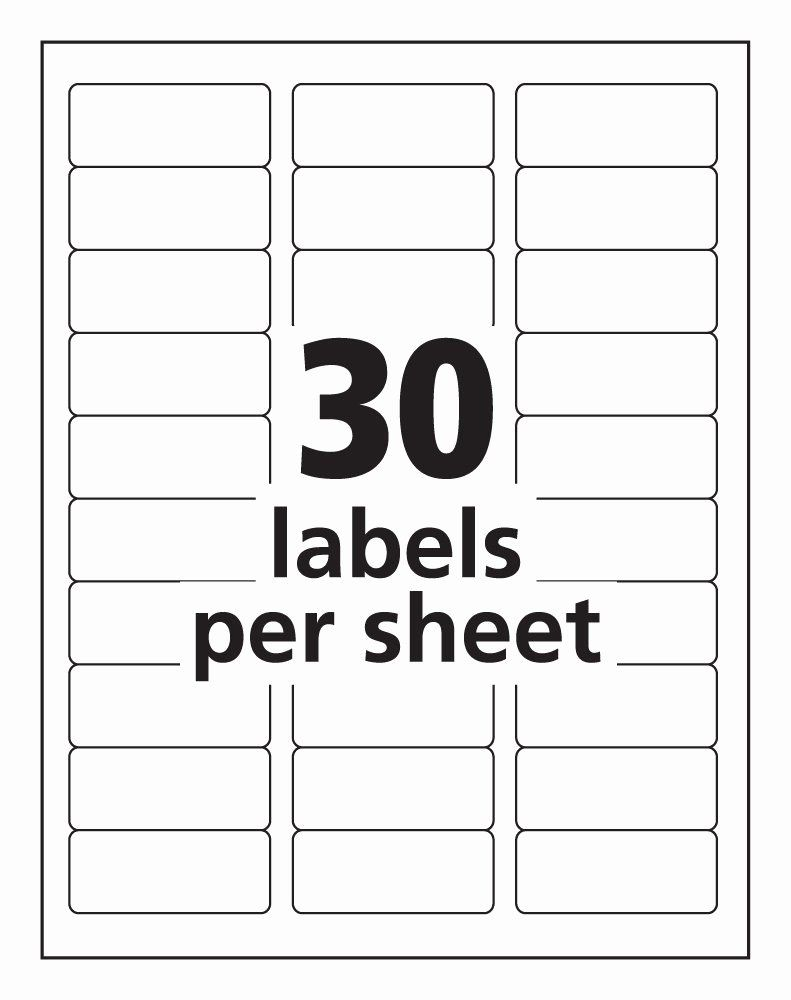 Avery Matte Frosted Clear Address Labels For Laser Printers 2 X 4 100 Labels 15663 Make Sure To Have A Label Templates Free Label Templates Printing Labels