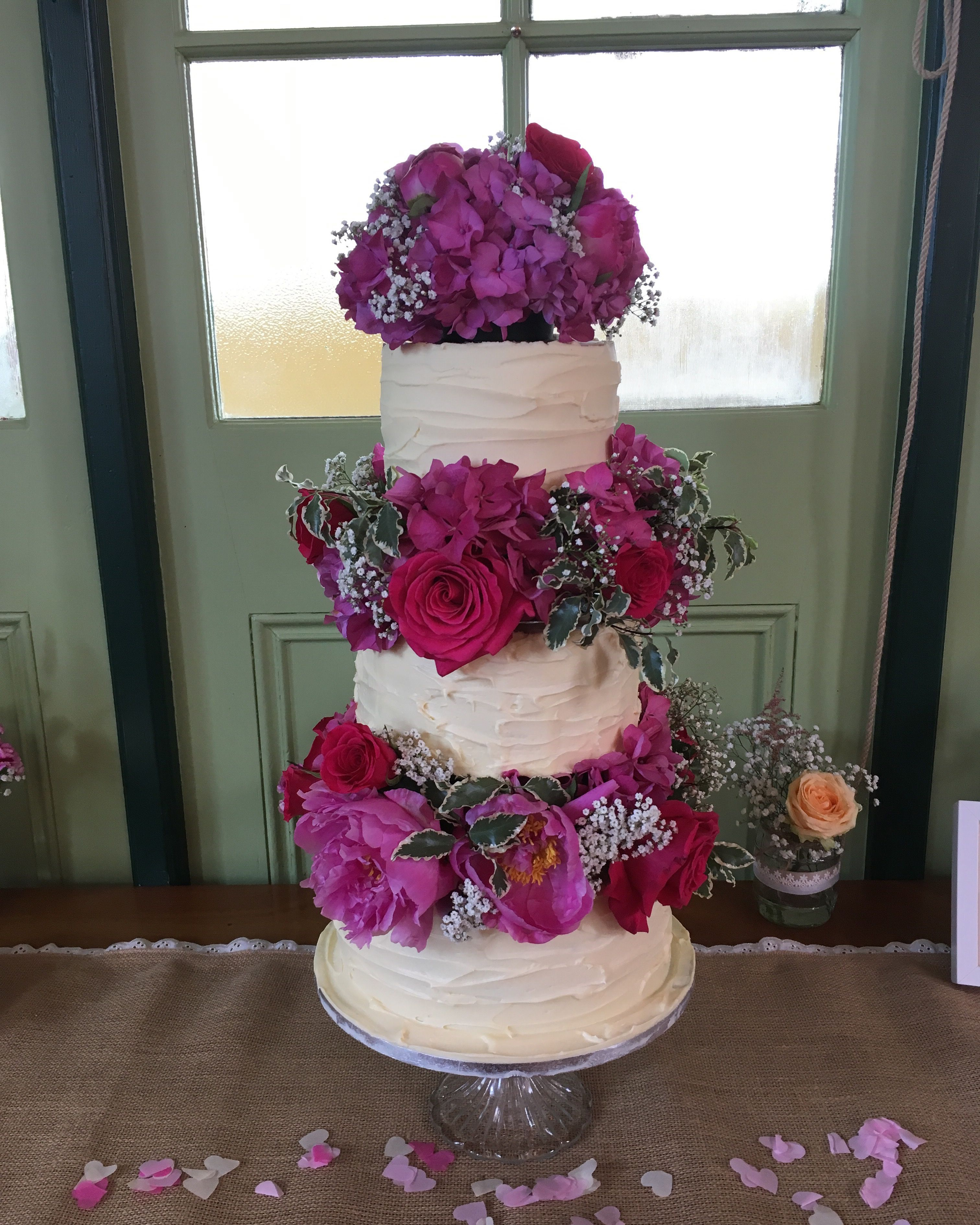 Pin on Wedding Cakes - Silver Rose Bakery