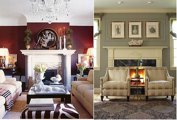 How to arrange the furniture around a fireplace arrange How to position sofas in living room