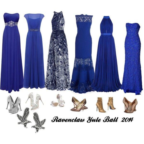 Ravenclaw Yule Ball 2014 | Hochsteckfrisur, Ballkleid und Kleider
