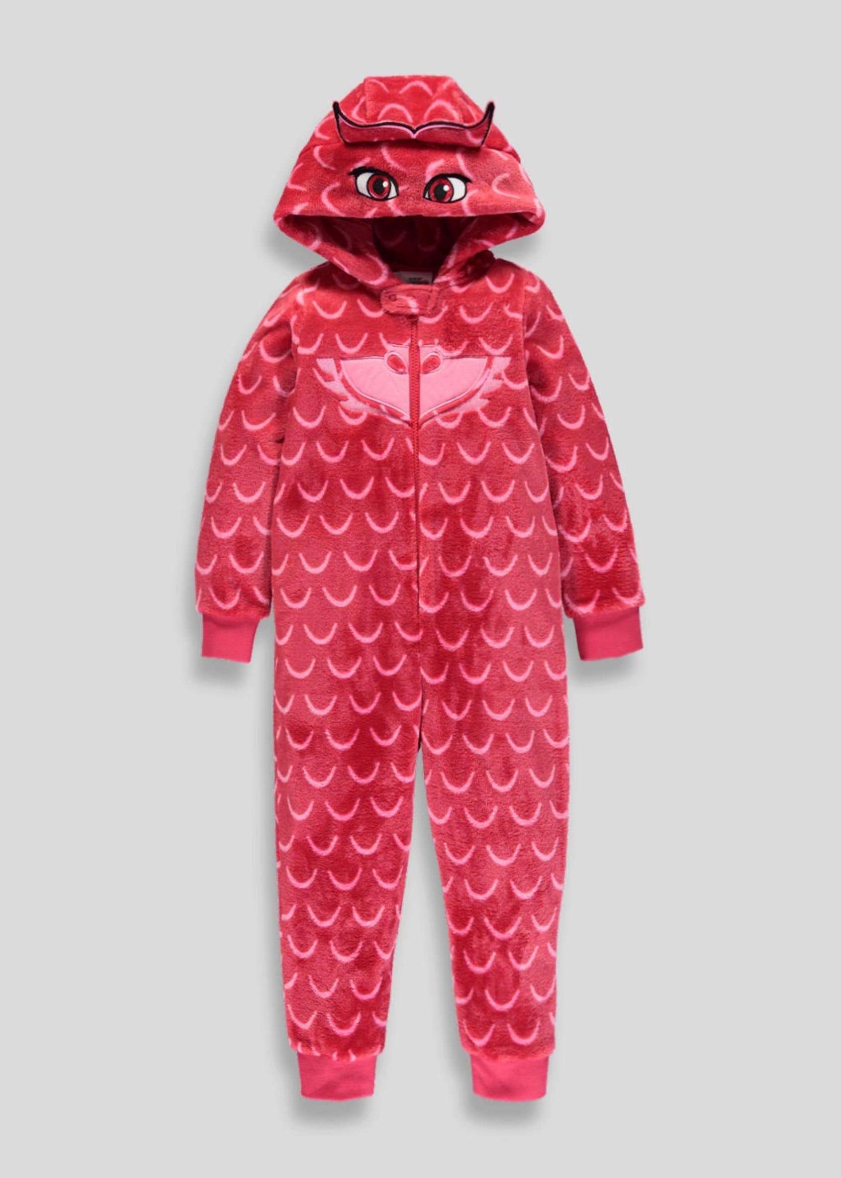 dc8ba826d Kids PJ Masks Owlette Onesie (2-7yrs) – Red