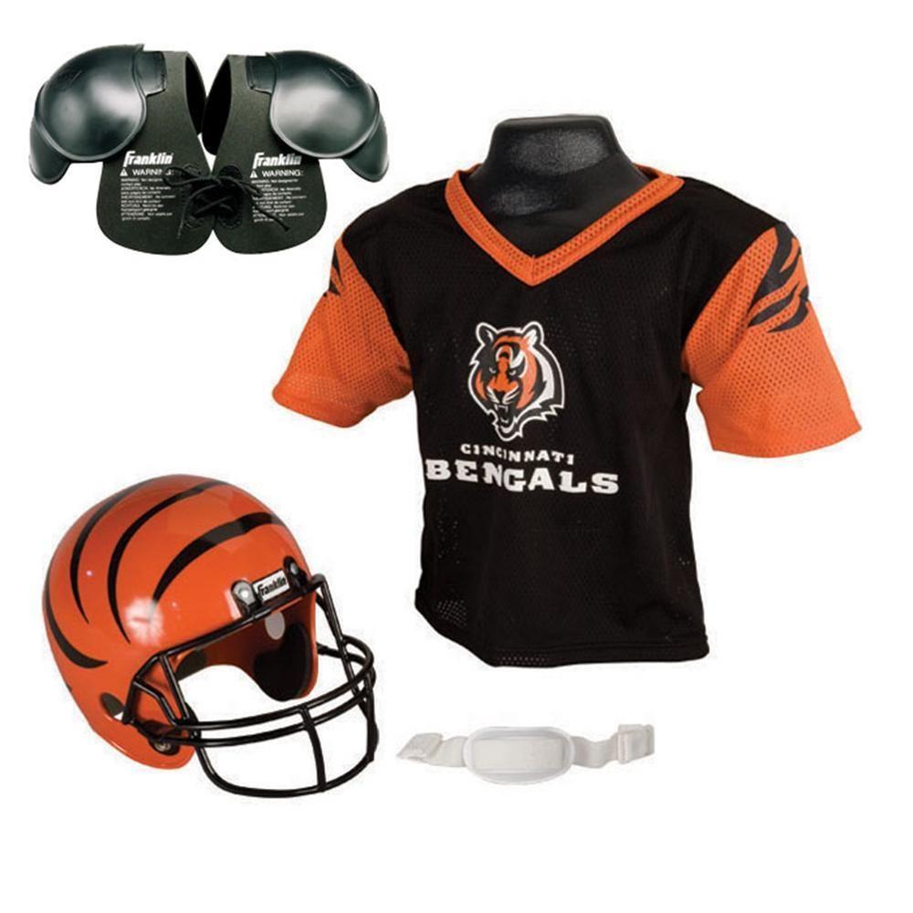 Cincinnati bengals youth nfl helmet and jersey set with