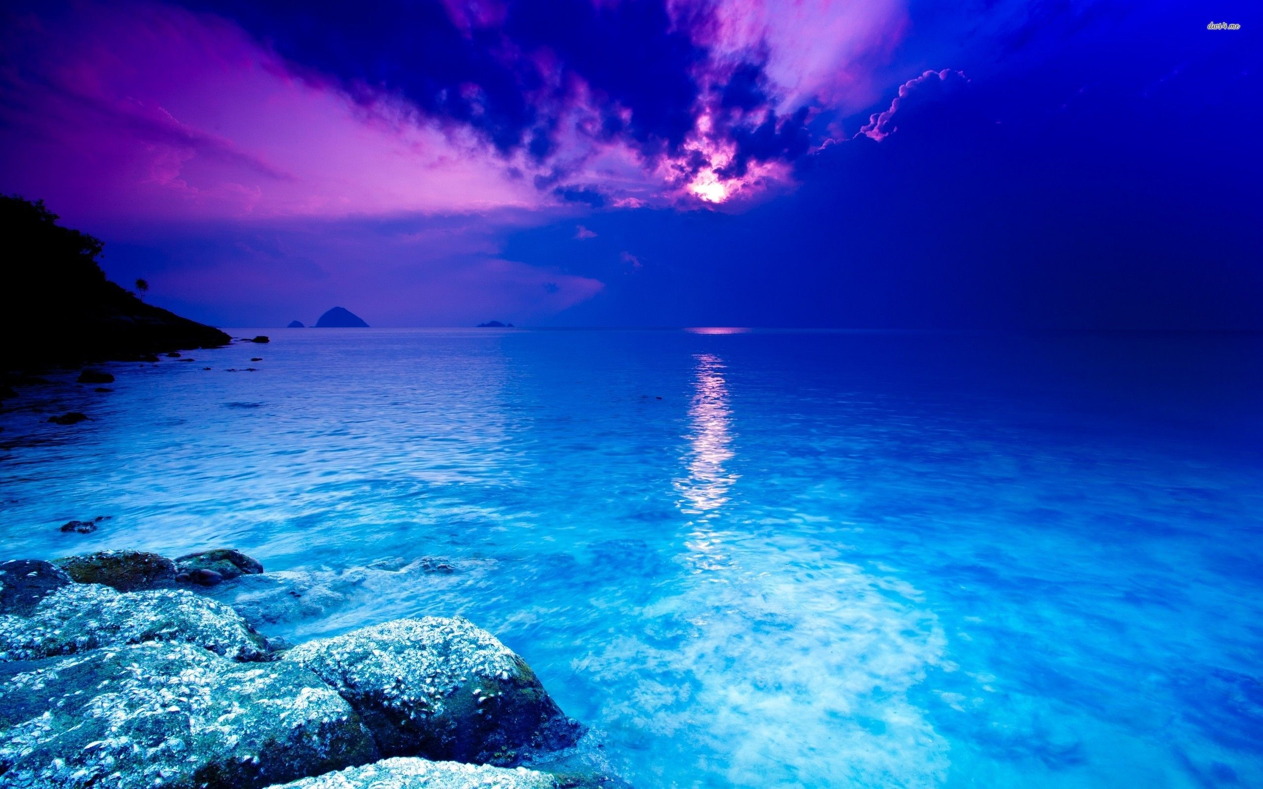 Blue Ocean Wallpaper Beach Wallpapers 14710 Ocean