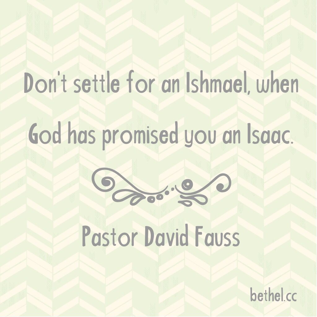 Dont Settle For Anything Less Than What God Has Promised You