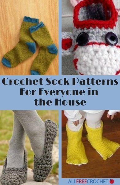 32 Free Crochet Sock Patterns Free Crochet Socks And Slipper