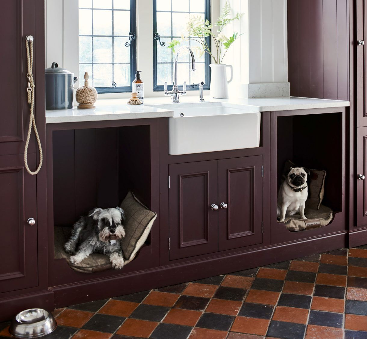 Canine cubbyholes Dogs have taken over our homes — and