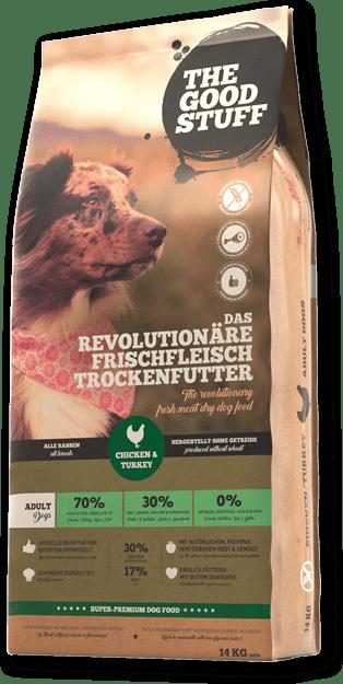 The Goodstuff Super Premium Petfood Pet Food Packaging Dog