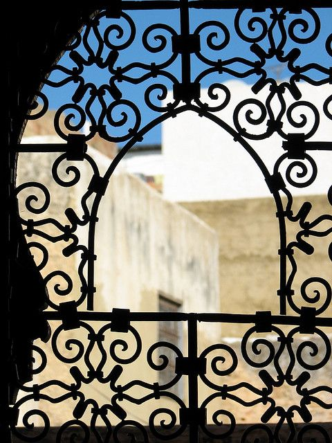 Moroccan Wrought Iron Window Grills 5