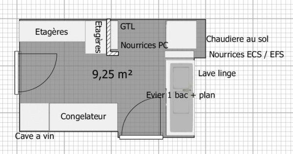 cellier buanderie plan