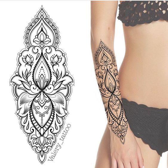 ▷▷ +107 Tatuajes mandalas 【EN EL BRAZO】(Actualizad