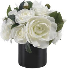 Diane James Classic Black and White Bouquet