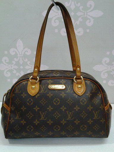 79bac922ad57 Authentic Louis Vuitton Montorgueil PM Handbag  318.99 LOUIS VUITTON Number  MI0089 Pocket - Interior Slide Pocket