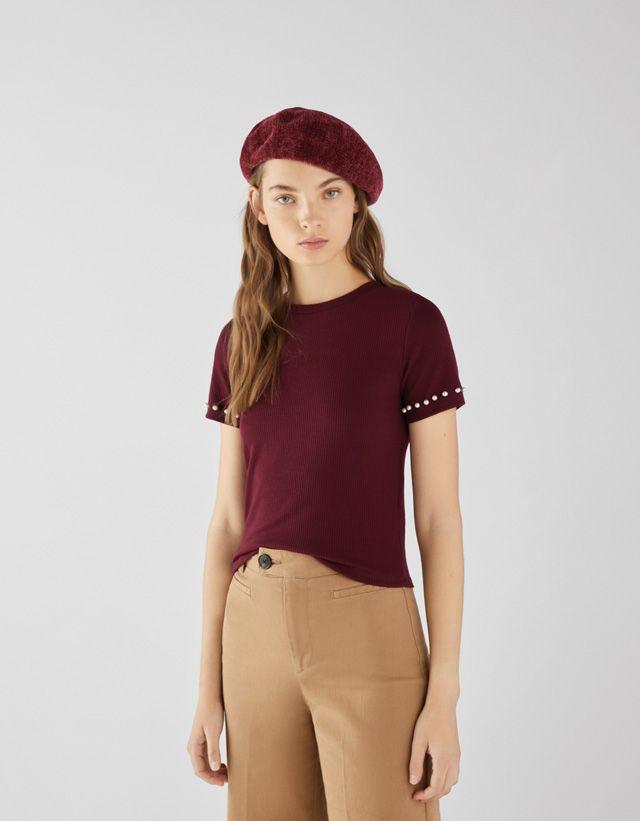 ec748552709b Tees - CLOTHING - WOMEN - Bershka United States   New Cart   Clothes ...