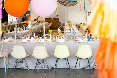 #Eames chairs and other mid-century modern furniture available for rent from YEAH! Rentals (Los Angeles) #mcm